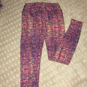 LulaRoe multicolored leggings